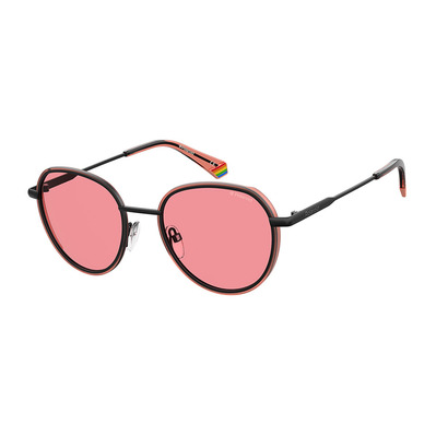 POLAROID - PLD 6114/S - Polarised Sunglasses - black/pink