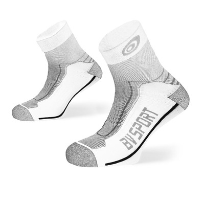 BV SPORT - DOUBLE POLYAMIDE LOW - Socken - white/grey