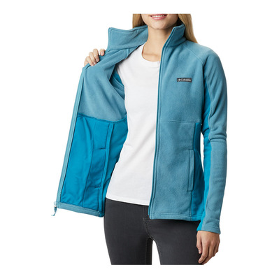 COLUMBIA - BASIN TRAIL™ II FULL ZIP - Sweatshirt - Frauen - canyon blue/fjord b