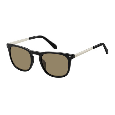 FOSSIL - 3087/S - Sunglasses - Men's - black/brown