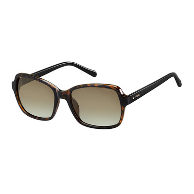 FOSSIL - 3095/S - Polarised Sunglasses - Women's - havana/black/brown