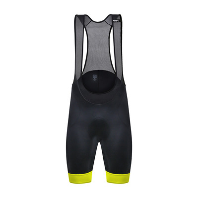 SANTINI - AS SCATTO - Trägerhose - Männer - black/fluo yellow
