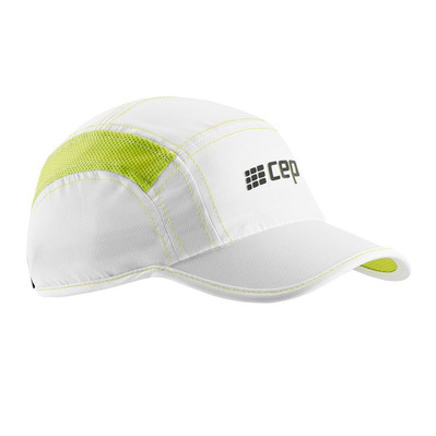 CEP - BRAND RUN WZ164 - Casquette white/lime green