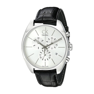 Calvin Klein - K2F27120 - Chronograph Watch - Men's - black/grey