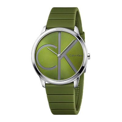 Calvin Klein - MINIMAL - Quartz Watch - Men's - green