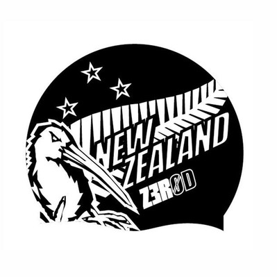 Z3ROD - NATIONAL PRIDE - Swimming Cap - new zealand