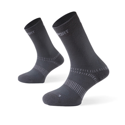 BV SPORT - DOUBLE - Chaussettes antracite