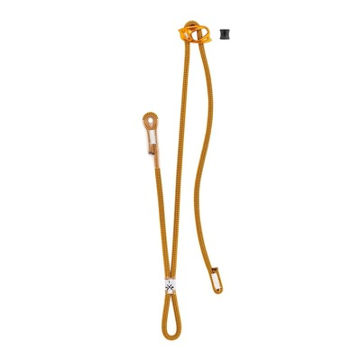 PETZL - DUAL CONNECT ADJUST - Lanyard - orange