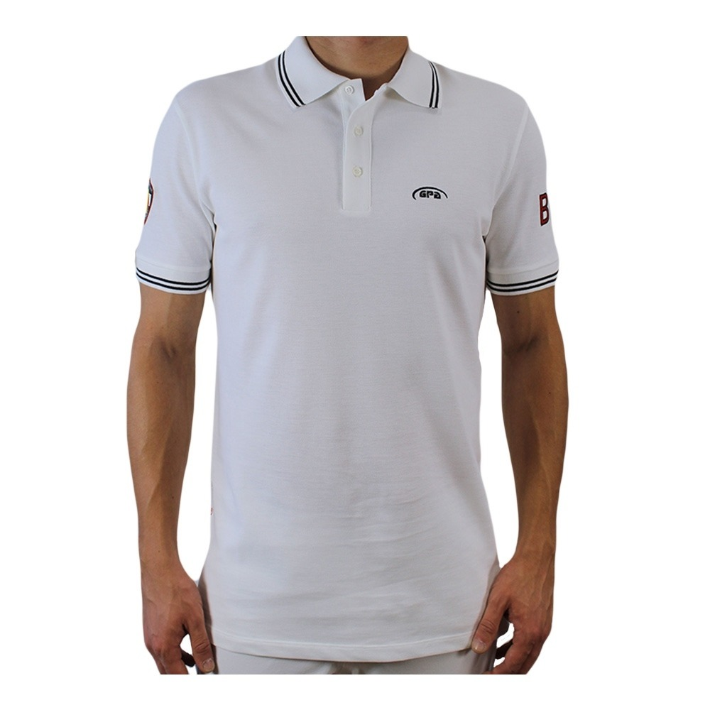 GPA Polo MC homme BELGIQUE white - Private