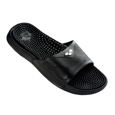ARENA - MARCO X GRIP - Sandals - solid black/silver