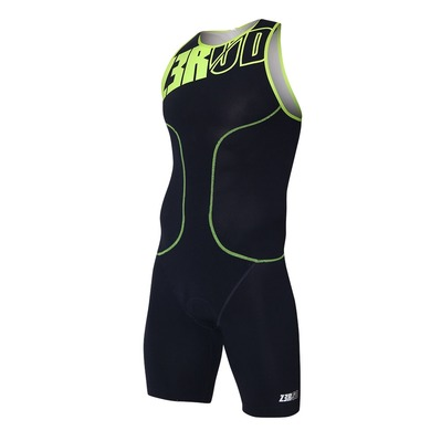 Z3ROD - OSUIT - Trisuit - Men's - dark blue/fluo yellow