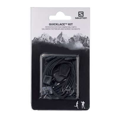 SALOMON - QUICKLACE - Shoe Laces - black