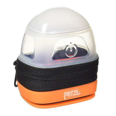 PETZL - NOCTILIGHT - Headlamp Case - black/orange