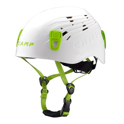 CAMP - Mountaineering Helmet - TITAN white/green