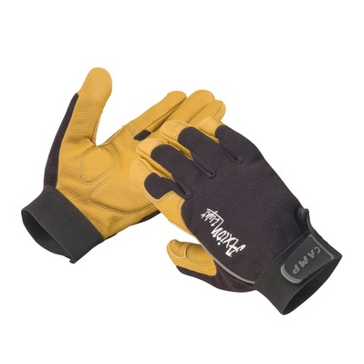 CAMP - Protective Gloves - AIXON LIGHT black/yellow