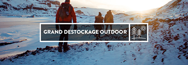 GRAND DESTOCKAGE OUTDOOR en soldes sur PRIVATESPORTSHOP