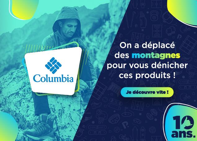 COLUMBIA en soldes chez PRIVATESPORTSHOP