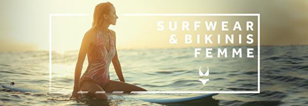 SURFWEAR & BIKINIS FEMME à super prix sur PRIVATESPORTSHOP